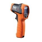 Klein Tools IR10 Infrared Thermometer 20:1 Optical Resolution and Adjustable Emissivity