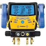 Fieldpiece SMAN460 Wireless 4-Port Digital Manifold with Vacuum Gauge  (Free 2nd Day Shipping)