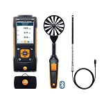 Testo 440 Air Flow Velocity IAQ Instrument Comfort ComboKit 1 with Bluetooth 0563 4406