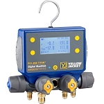 Yellow Jacket P51-860 Titan Digital Charging Manifold with Bluetooth