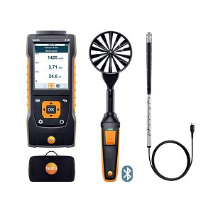 Testo 440 Air Flow Velocity IAQ Instrument Comfort ComboKit 2 with Bluetooth 0563 4407