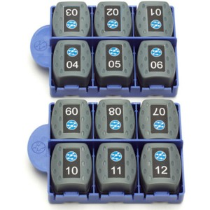 Ideal R158050 Kit of 12 RJ45 Remote Units for VDV Cable Verifier