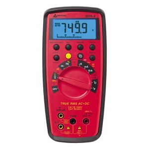 Amprobe 38XR-A TRMS Digital Multimeter with Optical PC Interface