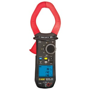 AEMC 607 TRMS Power Clamp Meter