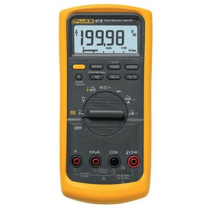 Fluke 87-5 TRMS Digital Multimeter for Industrial Applications