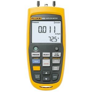 Fluke 922 Digital Airflow and Pressure Meter