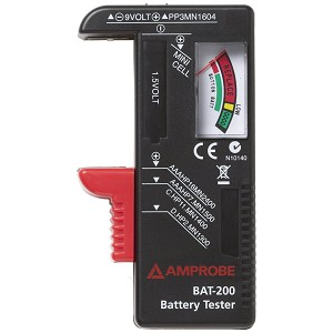 Amprobe BAT-200 Portable Universal Battery Tester