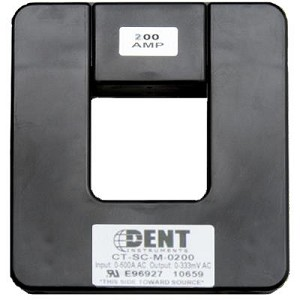 Dent Instruments CT-SCM-0200-U Current Transformer 20-260A