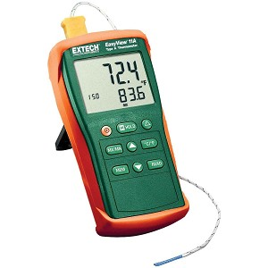 Extech EA11A Type K Thermometer with EasyView