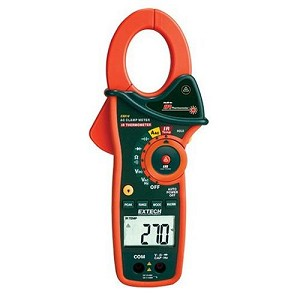 Extech EX810 1000A Digital Clamp Meter with IR Thermometer