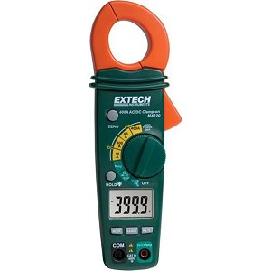 Extech MA220 Compact 400A AC DC Clamp Meter