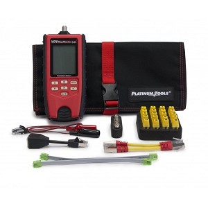 Platinum Tools T130K1 VDV MapMaster 3.0 Cable Tester Kit with network IDs