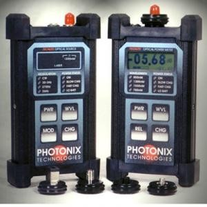 Photonix Techlite PX-D114 Deluxe Power Meter and 1550 Laser Light Source Fiber Optic Test Kit