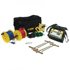 AEMC 3640 Kit-300ft 3-Point Digital Ground Resistance Tester