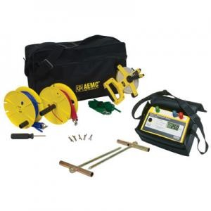 AEMC 3640 Kit-150ft 3-Point Digital Ground Resistance Tester