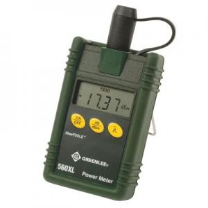 Greenlee 560XL Optic Power Meter with Wavelength Storage