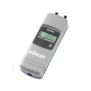 Wohler DM 2000 Digital Differential Pressure Manometer 7006