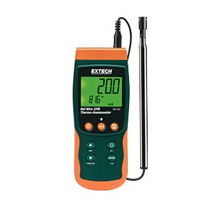 Extech SDL350 CFM Thermo-Anemometer with Datalogging Capability