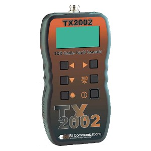 BI Communications TX2002 Handheld TDR Cable Fault Tester